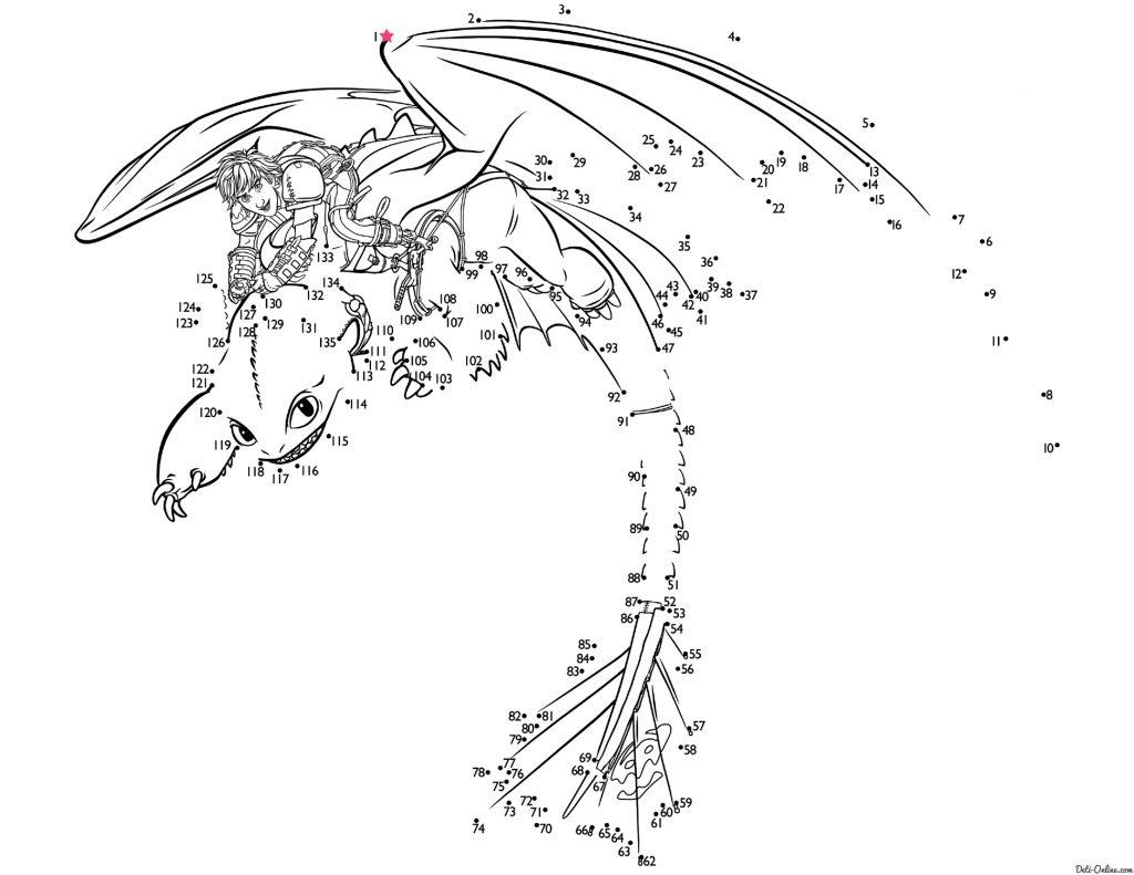 раскраски по мультфильму как приручить дракона 3