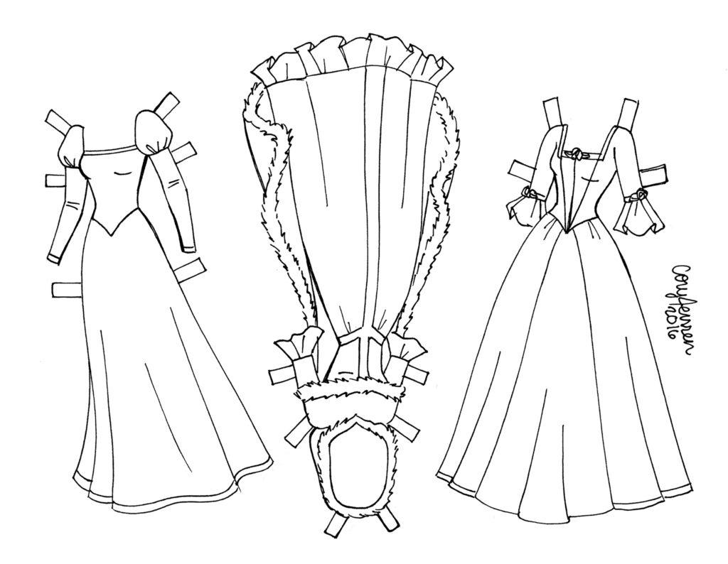 бумажные куклы одевалки вырезалки с героями мультфильмов