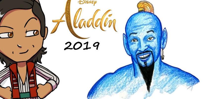 Как нарисовать Аладдина
