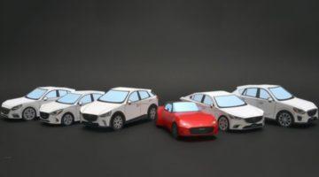 Машины из бумаги
